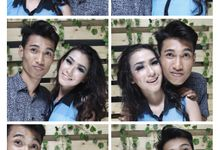 selfie photobooth on studio by pitho photography & photobooth