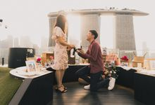 City Skyline Proposal Styling at Gardens by The Bay by Lily & Co.