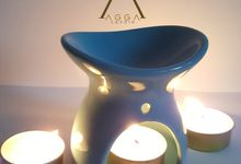 Blue Theme Oil Burner by AGGA candle