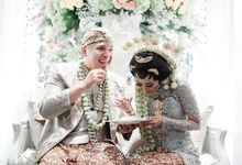 Akad Nikah Nisa & Ame di Hotel Ambhara Jakarta by The White