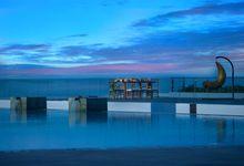 Dinner Reception at Pool Deck by Renaissance Bali Uluwatu Resort & Spa