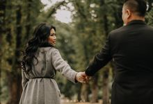Melbourne Prewedding / Fall by Costes Portrait