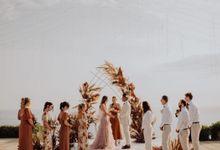 Nicole & Danielle Wedding by Debali Organizer