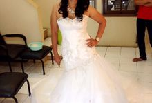 Makeup & Hairdo by ALMOND SALON and BRIDAL