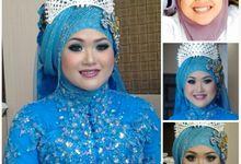 Wedding dik Putri by OCIE Mua