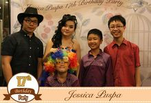 Jessica Puspa Sweet 17 by Flash Photobooth
