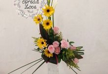 Table Arrangements by Spread Love Florist