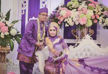 Wedding Puspa dan reza by 3KENCANA PHOTOGRAPHY
