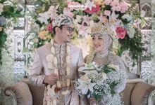 Nasya and Saif Wedding by Nikahsamakita