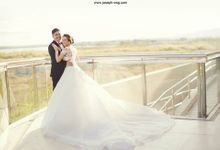 Nino and Marinel tie the knot by Fotoholic