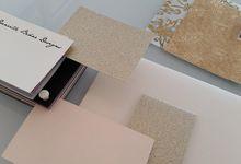 Invitation by Danielle Behar Designs