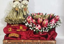 Golden wedding anniversary of Mr Johan and Mrs Retno by Floralicious