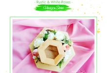 RING BEARER - HEXAGON by Garden Scrapframe