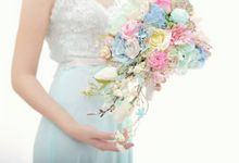 WHIMSICAL WEDDING BOUQUET by LUX floral design