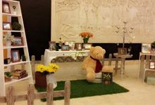 Coral engagement Decoration by Izatta Florist and Decorator Bali