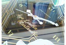 CLOCK SCRAP FRAME - AYU LINDA & MURTANDHO by Garden Scrapframe