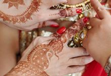 Bhavish and Yira Wedding by Henna Tattoos and More