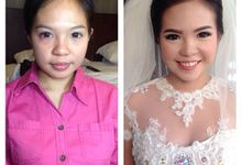 before&after 2 by Marsia Yulia Signature. Natural and Korean Make Up Specialist.