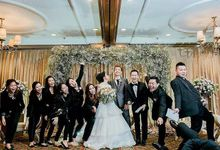 Albert & Audi Wedding by MERCANTILE PENTHOUSE WEDDING