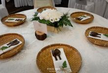 The Wedding of Titis & Gilang by Pinecone Event Decoration
