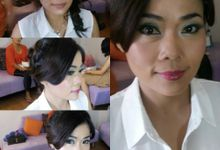 late post project by LALA  MAKEUP&HAIRDO