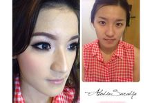 Andhika & Patricia by Alodia Makeup Art