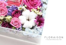 """See me Thru"" Bloom box by Floraison"