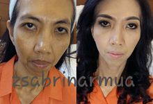 Before after by zsabrinar Makeupartis