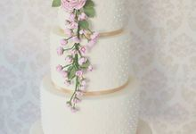 The Wedding Cake of Rosa & Adam by Creme de la Creme Bali