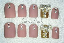 Gel Fake Nails by Carissa Nails