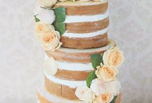The Wedding Cake of Billy & Fiona by Creme de la Creme Bali