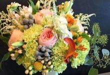 Bridal Bouquets by Regina Mae Fleurs Atelier Pte Ltd