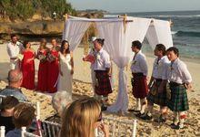 Wedding cooperation Australia versus Schotland by Bali-Dream