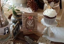 Rustic bachelorete party by Mint Party Planner & Decoration