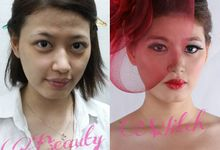 Before After Look by BEAUTY WITCH