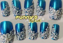 HI JUNE 2015 by Funny's Nail art