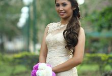 Bridal Photo Shoot by D' Lady behind the Scene Make Up Artistry