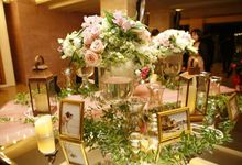 Ballroom Wedding at Bali Room - Hotel Kempinski by Jonquilla Decor