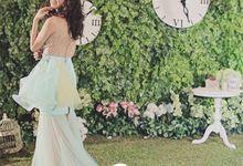 long dress by Novia . K