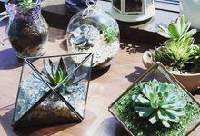 Terrarium for your center piece by Gioflorist