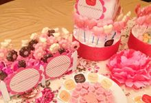 Sweet Corner @ Harry & Mei Sien Wedding by Fun_withchocolate