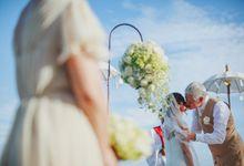 The Wedding of Lingga and Jakob by AVAVI BALI WEDDINGS