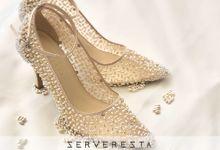 Vinette Cream Stones by SERVERESTA