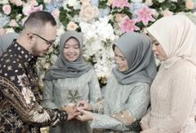 Engangement Day Mr. Azmi and Ms. Ella by The Batik Atelier