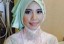 test make up wedding by Ditadyanti