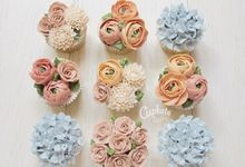 cupcakes favors by Cupkate