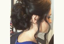 Hairstyles  by C.E Bridal