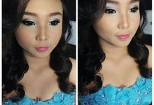 Portfolio Makeup, before after by Novena Febriani MUA
