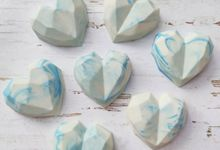 Marble Blue Heart Souvenir by The Rustic Soap