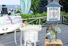 Beach party wedding theme by Marlyn Production